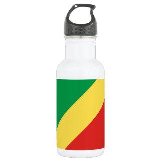 Congo National World Flag 532 Ml Water Bottle