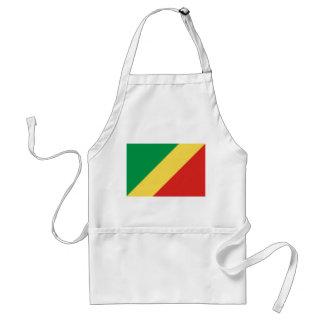 Congo National World Flag Standard Apron