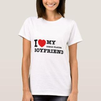 Congo player Boyfriend Designs T-Shirt