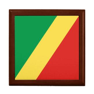 Congo - Republic of the Congo Flag Jewelry Boxes