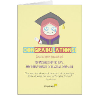 Congradulations! (Female) Cards