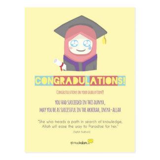 Congradulations! (Female) Postcard