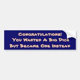 Congrats! Bumper Sticker