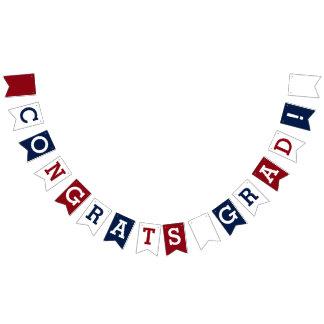 Congrats Grad! Bunting Flags