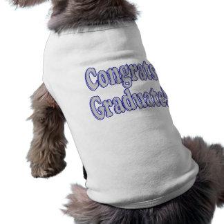 Congrats Graduate Blue & Silver Shirt
