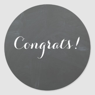 Congrats! sticker
