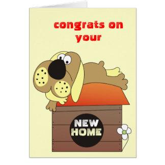 Congrats sur vos nouvelles cartes à la maison