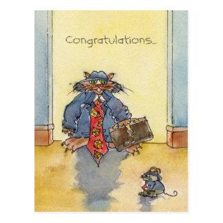 Congrats...to the Big Cheese Postcard