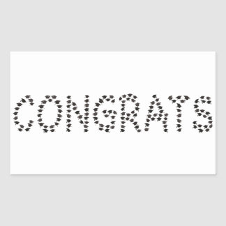 Congrats to the graduate sticker