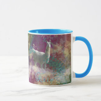 Congratuations Katy - Llama Blizzard Mug