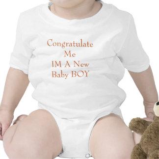 Congratulate MeIM A New Baby BOY Baby Bodysuit