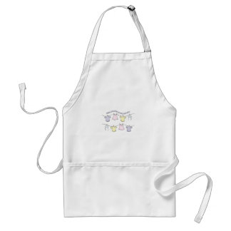 Congratulation On Your Baby Girl! Adult Apron