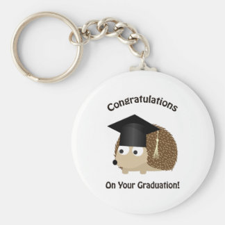 Congratulation on Your Graduation Hedgehog Keychain