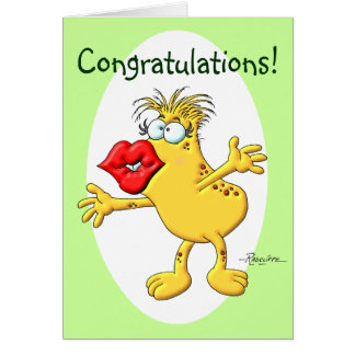 Congratulation Smooch Card