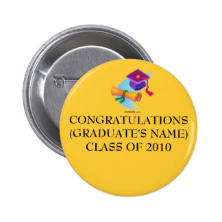 CONGRATULATIONS(2014 Graduation Pin) 2 Inch Round Button