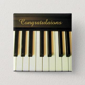 Congratulations!_ 2 Inch Square Button