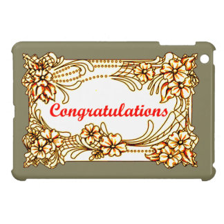 Congratulations 2 iPad mini cover