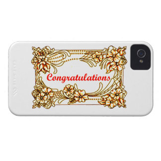 Congratulations 2 iPhone 4 Case-Mate case