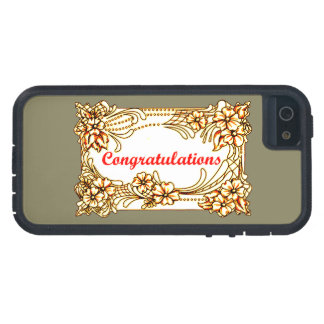 Congratulations 2 iPhone 5 case