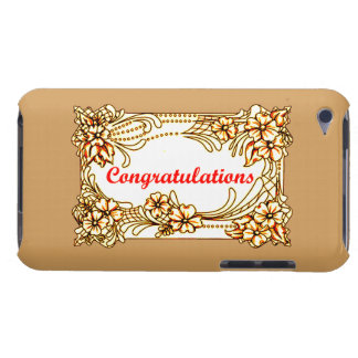 Congratulations 2 iPod Case-Mate cases