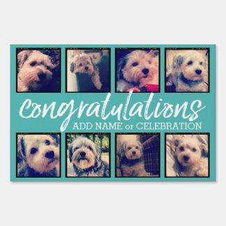 Congratulations 8 Custom Photo Collage