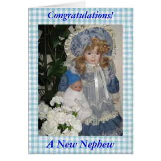 Congratulations a New Nephew Card