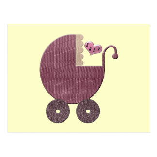 Congratulations and New Baby Girl Greeting Cards Post Card