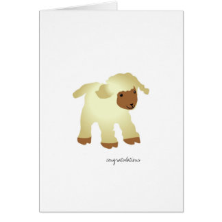 Congratulations-Baptism Greeting Card