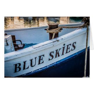 Congratulations - Blue Skies Card