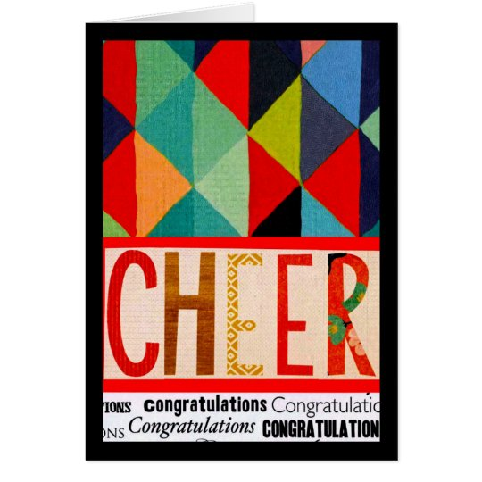 Congratulations Cheer Card