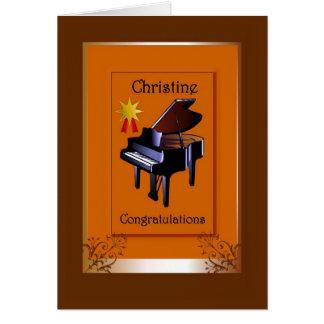 Congratulations Christine Card