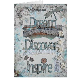 Congratulations - Dream, Discover, Inspire Card