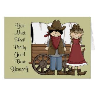 Congratulations Feel Good Card - Western