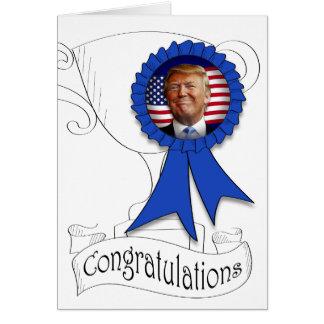Congratulations from Trump Card