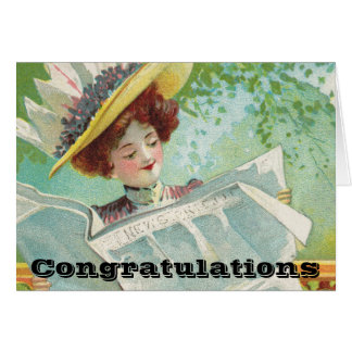 Congratulations Good News Gets Around Card