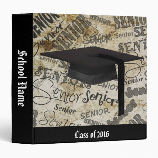 "Congratulations, Graduate 1.5"" Memory Album 3 Ring Binder"