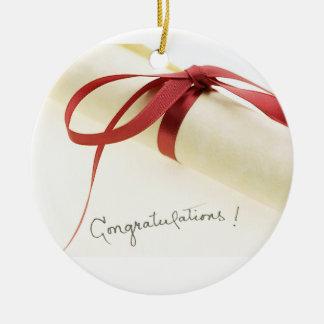 Congratulations Graduate Ceramic Ornament