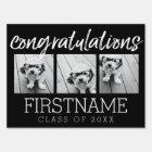 Congratulations Graduate Class of Year Graduation Sign