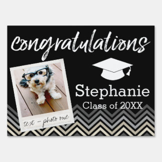 Congratulations Graduate Class of Year Graduation Sign