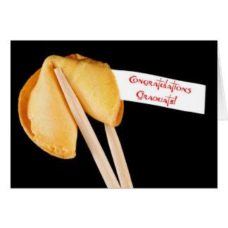 Congratulations graduate fortune cookie card