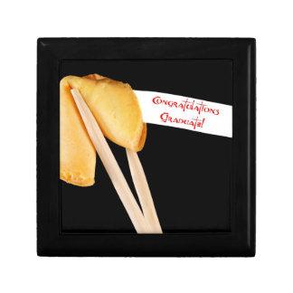 Congratulations Graduate Fortune Cookie Trinket Box