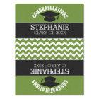 Congratulations Graduate - Green Black Graduation Tissue Paper