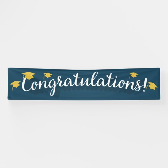 Congratulations Graduation / All Occasion Banner