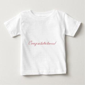 Congratulations - handwritten note baby T-Shirt