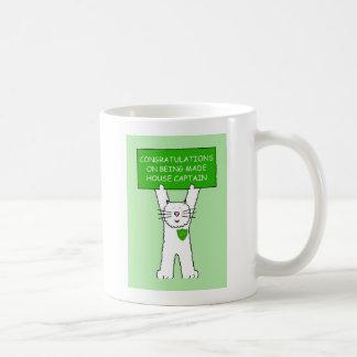 Congratulations House Captain. Classic White Coffee Mug