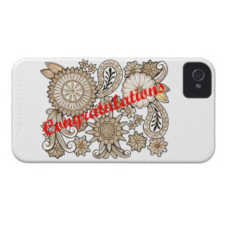 Congratulations iPhone 4 Case
