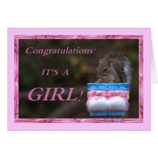 Congratulations… It's A Girl! Card