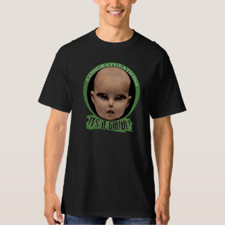 """Congratulations, it's A Ghoul!"" Monster Tee"