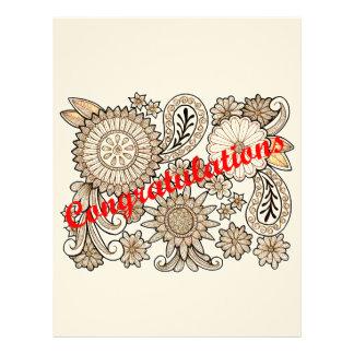 Congratulations Letterhead
