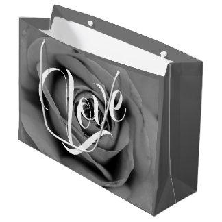 Congratulations Monochromatic Rose Gift Bag